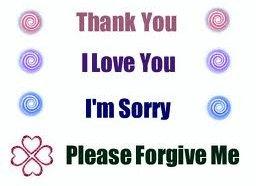 Прости спасибо я люблю тебя