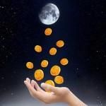 Денежные ритуалы на растущей Луне