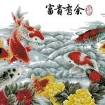 Карп по фен-шуй: золотая рыбка?