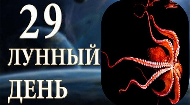 29-dvadcat-devjatyj-lunnyj-den-sutki-harakteristika