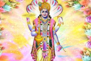 Божество Вишну
