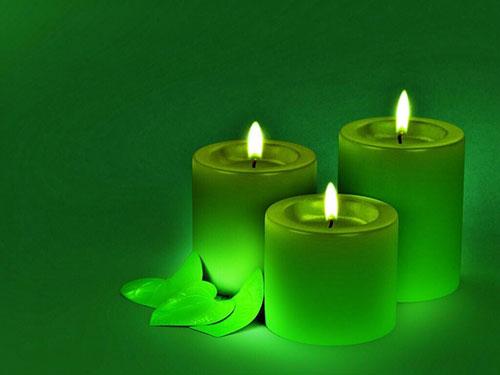 Зеленые свечи